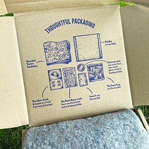 Sustainable D2C packaging with impact